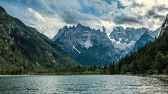 il Cristallo dal lago di Landro by Luigi Alesi on 500px
