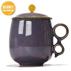Ice Crack Ruyao Chinese Tea Cup Tea Cup With Lid, Chinese Tea Cups, Dragon Tea, Chinese Dragon, Corporate Gifts, Tea Pots, Ceramics, Mugs, Tableware