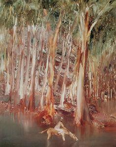 The Leonard Joel Specialist Print Auction - Thursday March 2014 at Live online bidding available! Australian Painting, Australian Artists, Modern Art Artists, Sidney Nolan, Art For Art Sake, Landscape Paintings, Tree Paintings, Contemporary Paintings, Real People