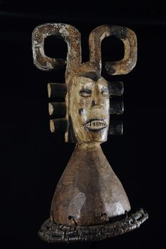 Masque Cimier - Ijo / Ijaw - Nigeria - Objet n°4635 - Galerie Bruno Mignot