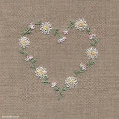 Daisy Chain Heart by Jo Butcher