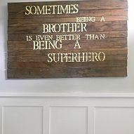 Sometimes being a BROTHER IS BETTER THAN BEING A SUPERHERO.⊱♡✲ Ļ Ơ Ɣ Ɛ ✲ ♡⊰