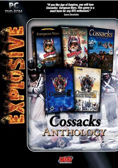 Prepare For Battle! Get the full Cossacks experience! The compilation contains the full version of the following games:  1. Cossacks - European Wars 2. Cossacks - The Art of War 3. Cossacks - Back to War 4. Cossacks II - Napoleonic Wars 5. Cossacks II - Battle for Europe