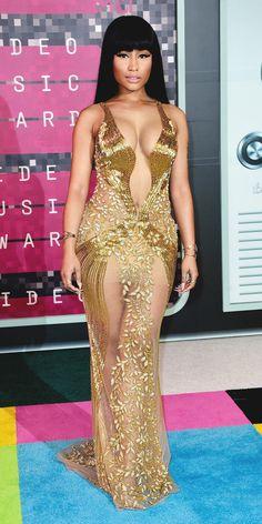 2015 Video Music Awards Red Carpet - Nicki Minaj from InStyle.com
