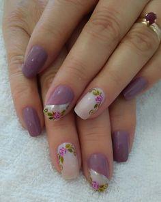 Nail Art Galleries, Cute Nails, Nail Art Designs, Floral, Ideas, Nail Colors, Designed Nails, Gorgeous Nails, Polish Nails