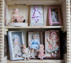 The Nutcracker toyshop. Victoria de Heredia and other dolls