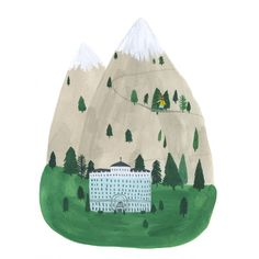 Very Wes Anderson Art And Illustration, Botanical Illustration, Kate Pugsley, Drawing S, Art For Kids, Design Art, Creations, Artsy, Artwork