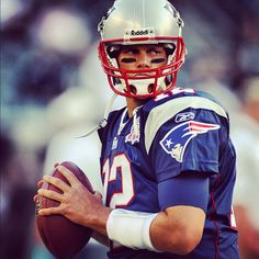 The Patriots' Brady. Some claim on being the best of the best, but I don't know enough about it. Not that that usually stops me.