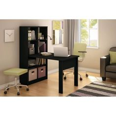 South Shore Annexe Work Table and Storage Unit Combo, Multiple Finishes - Walmart.com