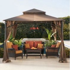 Outdoor Gazebo Lighting | Outdoor Chandelier Set fire to