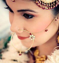 Punjabi Nath! #jewellery #Weddingplz #Wedding #Bride #Groom #love #Fashion…