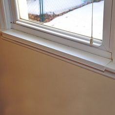 Window Sill Protector 29.5in x 2.25in White - http://www.thepuppy.org/window-sill-protector-29-5in-x-2-25in-white/