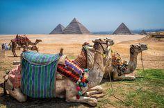 Giza Pyramids, Egypt (Credit: Dale Johnson, 500px)