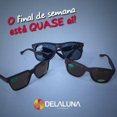 Aqui na Delaluna você tem óculos pra todos os dias da semana, venha escolher os seus!