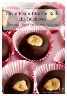 My Great Aunt Dot was the baker in the family. Before she passed, I made sure that she passed down all of her family favorite recipes to me. Her Buckeyes were always a special treat. If you don't know what a Buckeye is… it's pretty much like a chocolate and peanut butter ball or truffle. After eliminating pretty much everything from my diet, I finally found a way to make her Buckeyes... with... wait for it... no gluten, no dairy, no sugar, and no peanuts. And they still taste surprising...