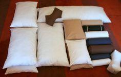 Pillow range including neck-splints and bolsters. Buy Now online:- http://allfinerthings.wozaonline.co.za/