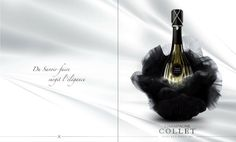Collet Champagne #wine #advertisement #champagne