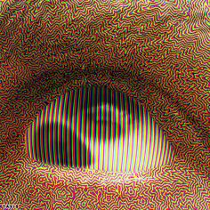 working on some new color technology for my halftone software Trippy Visuals, Psychadelic Art, Trippy Wallpaper, Weird Dreams, Aesthetic Gif, Horror Art, Optical Illusions, Cool Art, Retro