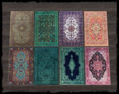 ScandiDecor: Persian Inspired Rugs • Sims 4 Downloads