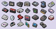 24x24 console icons