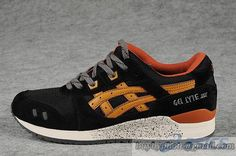 Men's Asics Gel Lyte III Sneaker H307N Black|only US$95.00 - follow me to pick up couopons.