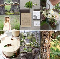 Woodland Wedding Inspiration :: On The Go Bride
