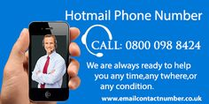 Sometimes, when you want to configure your Hotmail account in iphone but there is an issue occurs in configuring hotmail account in your iphone and you might face the many problems due to this issue. Thus to resolve the problems Hotmail has provided Support Hotmail Helpline Number UK who are continually accessible to supply the most effective solutions to its users at any time of the day.