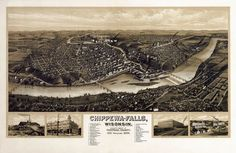 Chippewa-Falls, Wisconsin, 1907