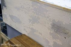 New Paint Displays | perfectly imperfect | Miss Mustard Seed Milk Paint chippy finish