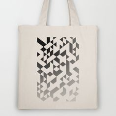 Triangles 4B Tote Bag by Project M