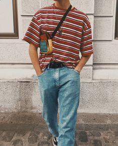 Indie Fashion Men, Streetwear Fashion, Retro Fashion, Indie Men, Early 90s Fashion, Boy Fashion, Indie Outfits, Retro Outfits, Vintage Outfits