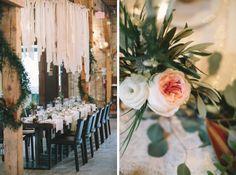 Archeo (Distillery District) | Toronto Green Christmas, Christmas Wedding, Tiffany Pratt, Bridal Table, Restaurant Wedding, Bohemian Chic Fashion, Tiffany Wedding, Winter Wonderland Wedding, Handmade Wedding