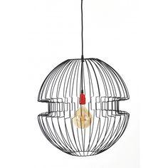 Lampa z drutu Imperium - JABBA Design Imperium, Ceiling Lights, Retro, Lighting, Pendant, Design, Home Decor, Decoration Home, Room Decor
