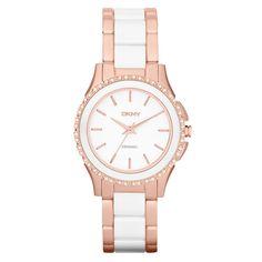 Dkny Analog Casual   Rose Gold  Ladies Watch Ny8821