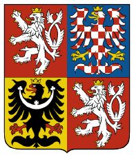 Coat of arms of the Czech Republic. The coat of arms of the Czech Republic displays the three historical regions—the Czech lands—which make up the nation. The current coat of arms, which was adopted in was designed by Czech heraldist Jiří Louda. Prague, Family Crest, Crests, Coat Of Arms, Czech Republic, Herb, Country, Beautiful, Flags