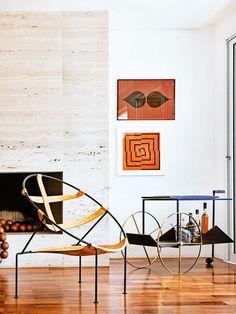 John Galliano for Maison Martin Margiela. Margiela Bar Cart White Living Room
