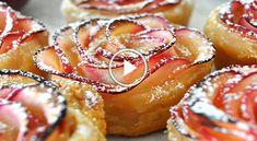 Creative Ideas » Rose Shaped Apple Baked Dessert