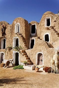 Ksar Berber village with ghofas, storerooms, open-air museum in Medenine…