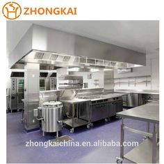 American Heavy Duty Full Stainless Steel Commercial Modular Kitchen table Cabinet hood Wholesale