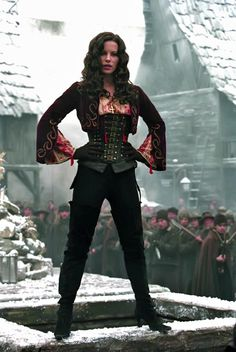 New costume idea by Kate Beckinsale in Van Helsing Kate Beckinsale, Faszination Latex, Female Movie Characters, Chica Fantasy, Kino Film, The Costumer, Woman Movie, Movie Costumes, Female Costumes