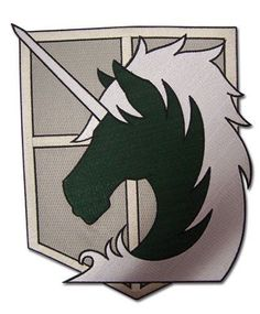 *NEW* Attack on Titan Military Police Large Patch by GE Animation #GEAnimation
