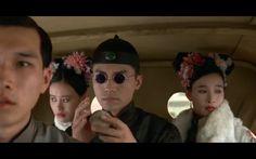 Vivian Wu as Wen Hsiu/Wu Jun Mei (Consort Shu), John Lone as Aisin-Gioro Puyi, and Joan Chen as Empress Wanrong in The Last Emperor Dynasty Tv Series, John Lone, Joan Chen, Last Tango In Paris, Bernardo Bertolucci, Best Screenplay, Last Emperor, Best Director, Qing Dynasty