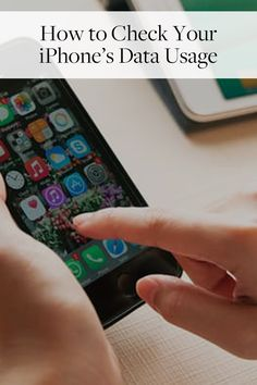 How to Check Your iPhone's Data Usage via @PureWow