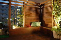 外構やお庭に重要な目隠しについて 天然木で作ったルーバーフェンス