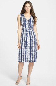 so cute -- Nordstrom Collection 'Darlington' Print Silk Dress  -- http://www.hagglekat.com/nordstrom-collection-darlington-print-silk-dress/