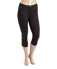 4c456bbb6f3 1826 Jeans Black Capri Pants - Plus Too
