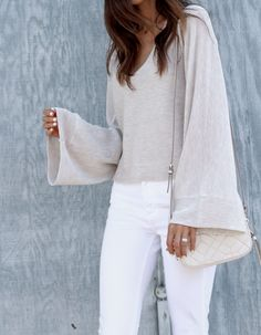 Bell sleeves                                                                                                                                                                                 More