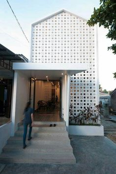 Ideas for house facade architecture architects Unique House Design, Minimalist House Design, Minimalist Home, Minimalist Interior, Minimalist Bedroom, Interior Exterior, Exterior Design, Modern Exterior, Pavillion