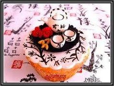 Ik weet niet of je deze cupcake na kan maken maar hij is wel heel leuk!