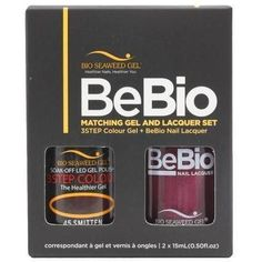 Bio Seaweed Gel Color + Matching Lacquer Smitten #45